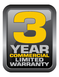 Vanguard 3 Year Commercial Limited Warranty