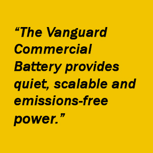 Vanguard Lithium Ion Battery Pack