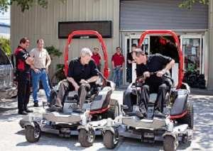 Altoz Precision Mowers Equips XP Z Mower | Vanguard Engines News