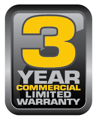 3 Year Commercial Limited Warranty by Vanguard Engines